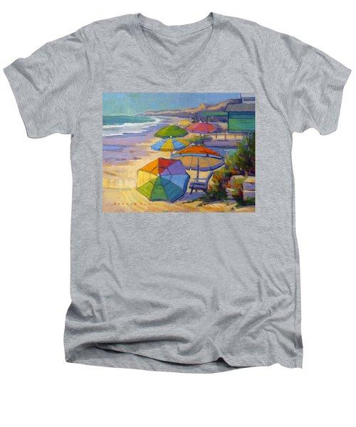 Colors Of Crystal Cove Men's V-Neck T-Shirt