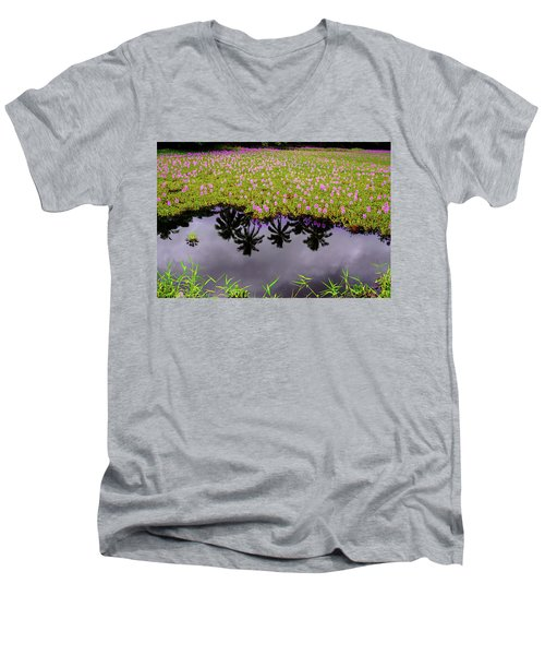 Colors On The Water Men's V-Neck T-Shirt