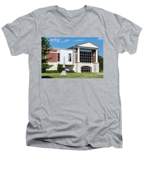 Columbia County Main Library - Evans Ga Men's V-Neck T-Shirt
