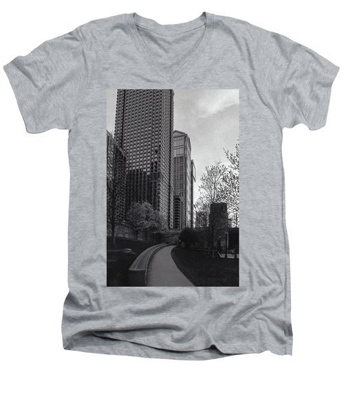 Come On Up Men's V-Neck T-Shirt