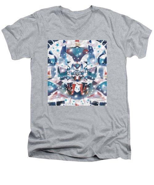 Command Central Men's V-Neck T-Shirt