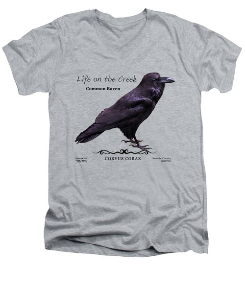 Common Raven Men's V-Neck T-Shirt