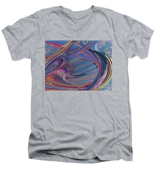 Contrail Party Men's V-Neck T-Shirt