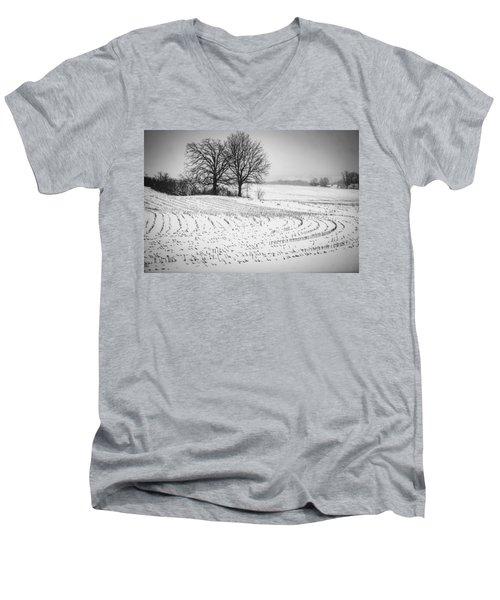 Corn Snow Men's V-Neck T-Shirt