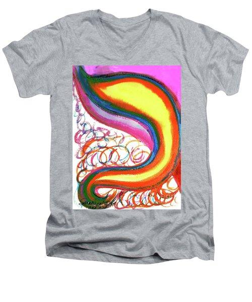 Cosmic Caf Ca4 Men's V-Neck T-Shirt