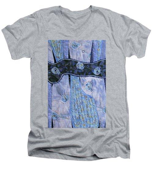 Cosmic Connectivity Men's V-Neck T-Shirt