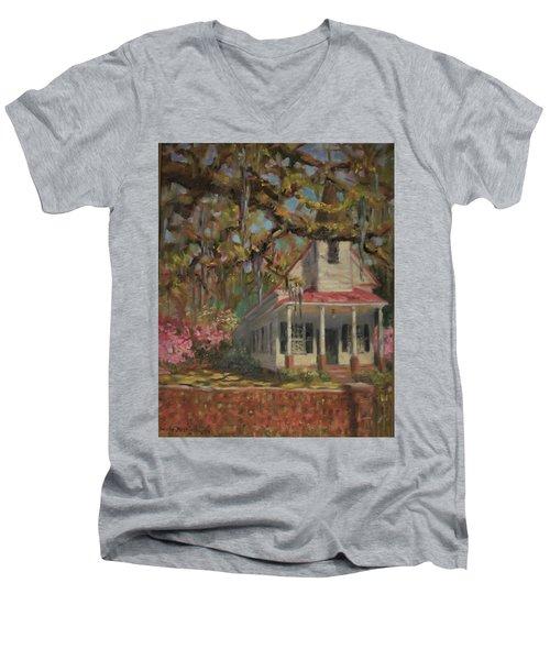 Country Church Men's V-Neck T-Shirt
