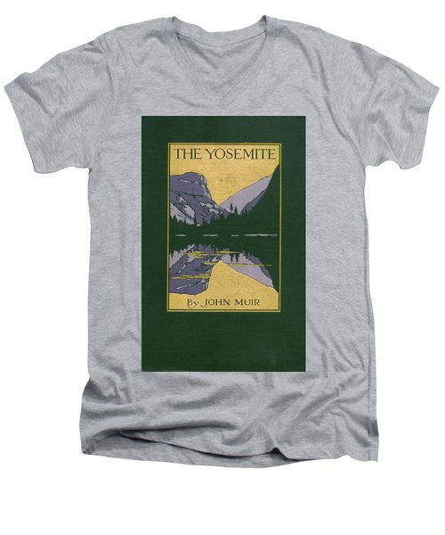 Cover Design For The Yosemite Men's V-Neck T-Shirt