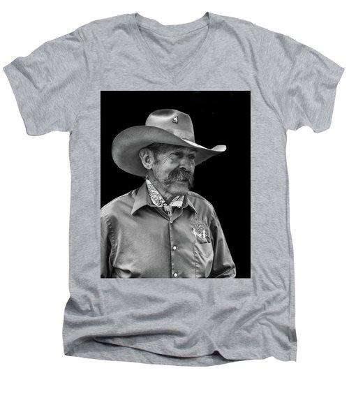 Cowboy Men's V-Neck T-Shirt
