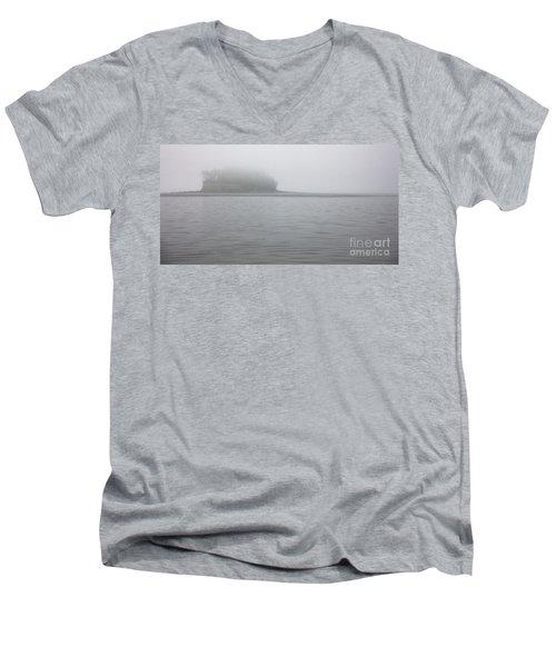 Cutts Island State Park Men's V-Neck T-Shirt