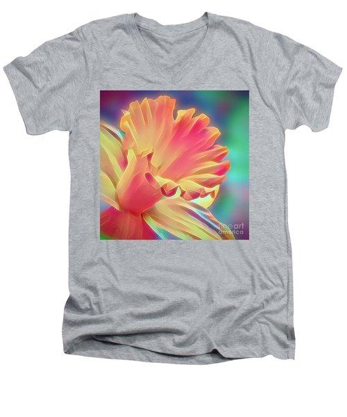 Daffy Daffodil 1 Men's V-Neck T-Shirt