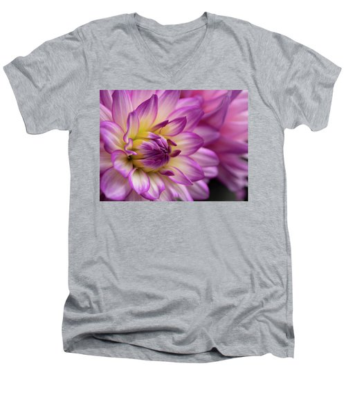 Dahlia II Men's V-Neck T-Shirt