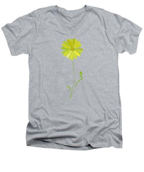 Daisy, Daisy Men's V-Neck T-Shirt