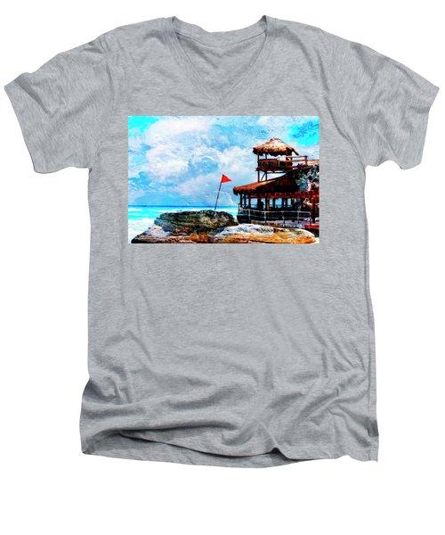Danger Point Men's V-Neck T-Shirt