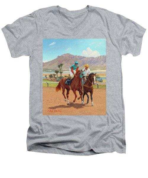 Dash For Cash Men's V-Neck T-Shirt