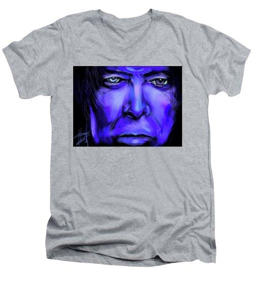 David Bluey Men's V-Neck T-Shirt
