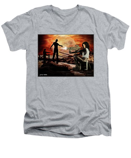 Dawn Of The Dead Men's V-Neck T-Shirt