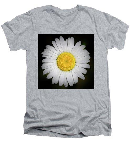 Day's Eye Daisy Men's V-Neck T-Shirt