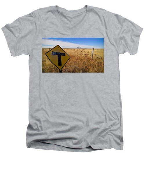 Decision Time Men's V-Neck T-Shirt