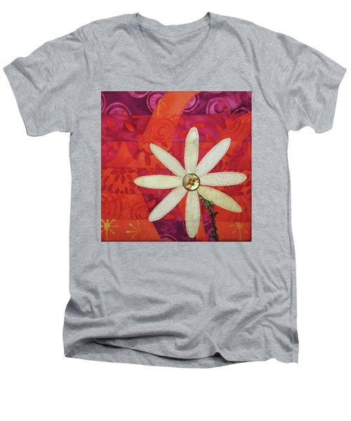 Delightful Daisy Men's V-Neck T-Shirt