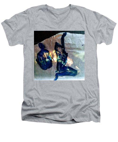 Delisious And Foolish Men's V-Neck T-Shirt