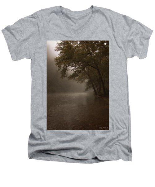 Depth Of Solitude  Men's V-Neck T-Shirt