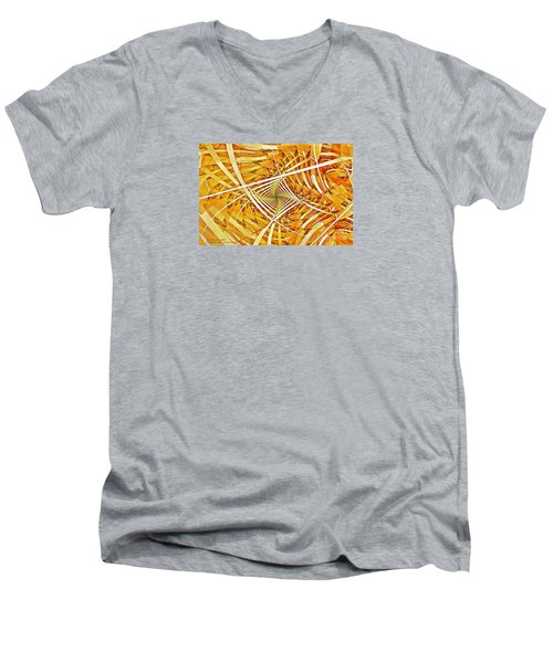 Descent Into Yello Men's V-Neck T-Shirt