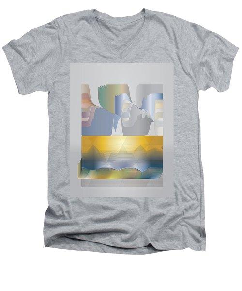 Desert Filter Box Men's V-Neck T-Shirt