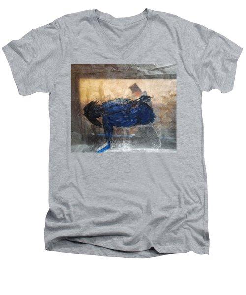 Desire By Nietzsche Men's V-Neck T-Shirt