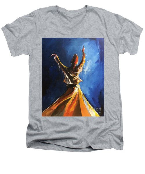 Devotion  Men's V-Neck T-Shirt