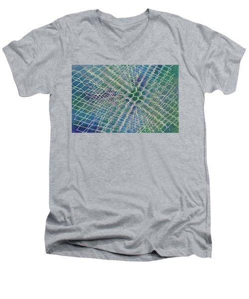 Diamond Men's V-Neck T-Shirt