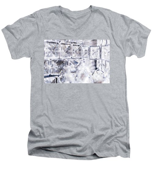 Diamond Shine II Men's V-Neck T-Shirt