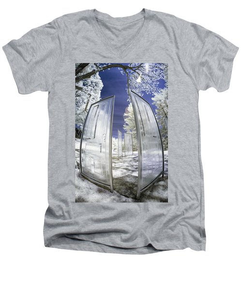 Dimensional Doors Men's V-Neck T-Shirt