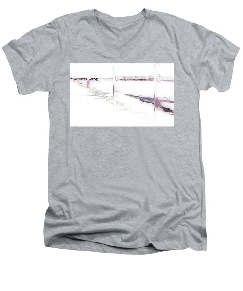 Disappearing Fence Men's V-Neck T-Shirt