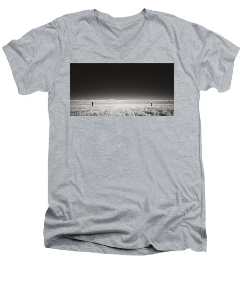 Distance Between Us Men's V-Neck T-Shirt