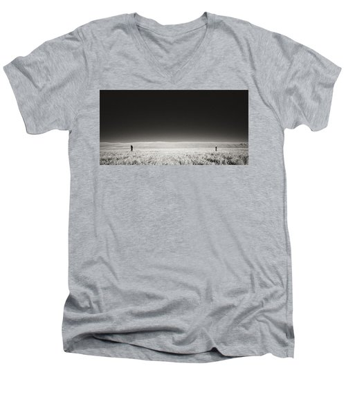 Distance Between Us Men's V-Neck T-Shirt