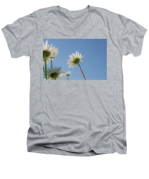 Distracted Daisies Men's V-Neck T-Shirt