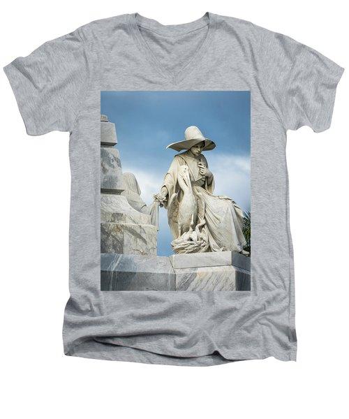 Do Not Forget Me Men's V-Neck T-Shirt