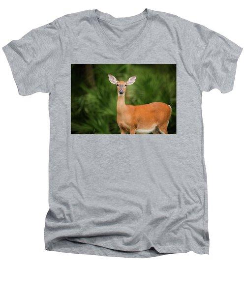 Doe Men's V-Neck T-Shirt