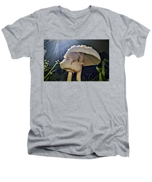 Don't Be Afraid Men's V-Neck T-Shirt