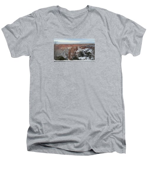 Donut Hole Men's V-Neck T-Shirt