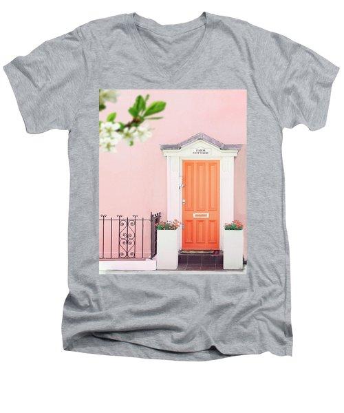 Door To Pastel Heaven Men's V-Neck T-Shirt