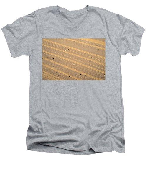Dot Matrix Men's V-Neck T-Shirt