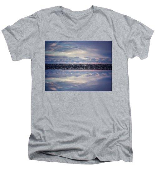 Double Exposure 2 Men's V-Neck T-Shirt