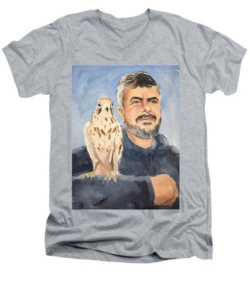 Dr Yoossef And Hawk Men's V-Neck T-Shirt