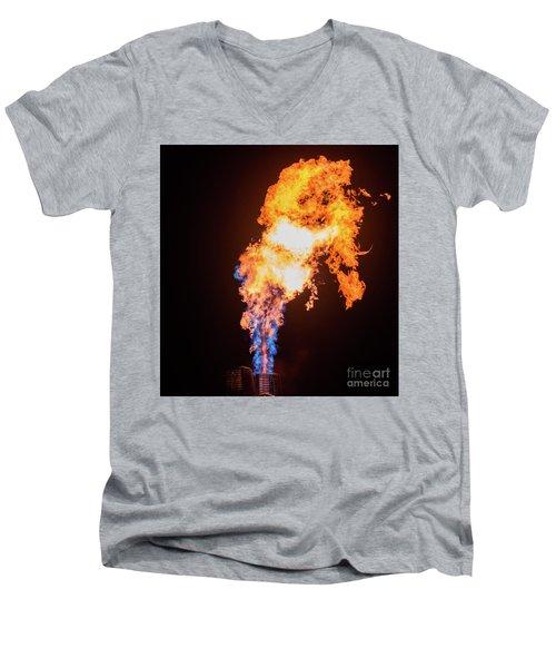 Dragon Breath Men's V-Neck T-Shirt