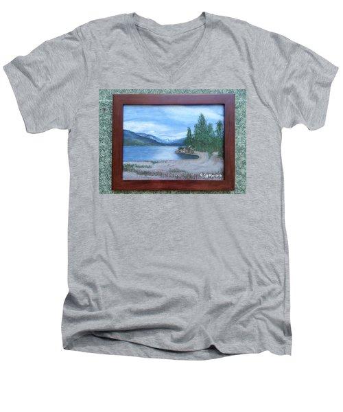 Dutch Harbour, Kootenay Lake Men's V-Neck T-Shirt