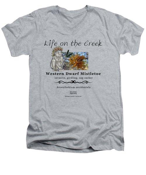 Dwarf Mistletoe Men's V-Neck T-Shirt