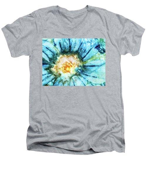 Eco Dyed Cosmos Men's V-Neck T-Shirt