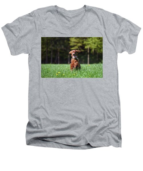 Elf Men's V-Neck T-Shirt